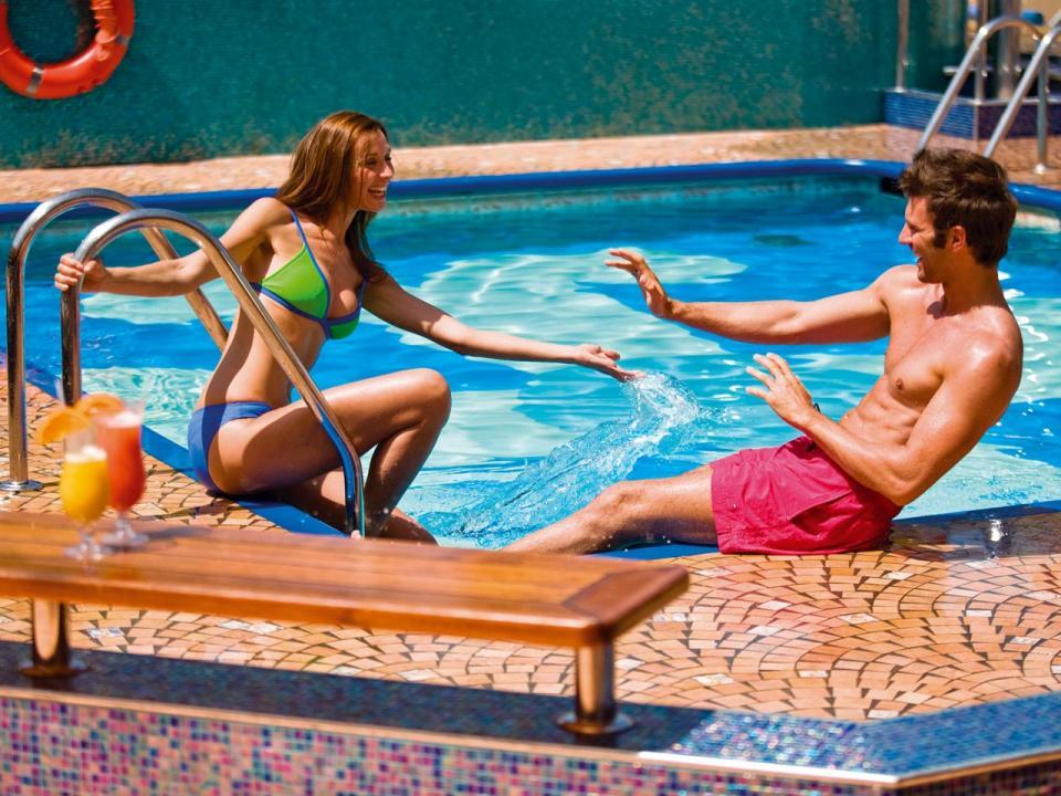Bikini cruise pool swimming swimsuit
