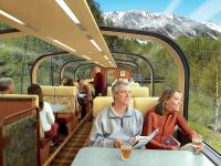 Deluxe Scenic Rail Journey in Double-Deck Dome Cars
