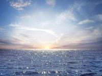 Cruising the Pacific Ocean