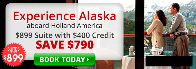 $899 Holland America Suite