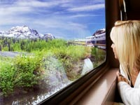 Scenic Rail Transfer from Seward to Anchorage