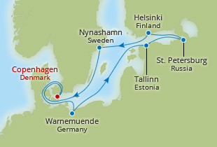 Travelzoo Offer 1599 Balcony 11 Day Baltics With 1 Nt