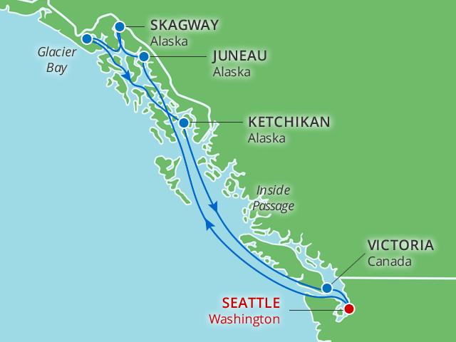 alaska cruise 2020 from seattle