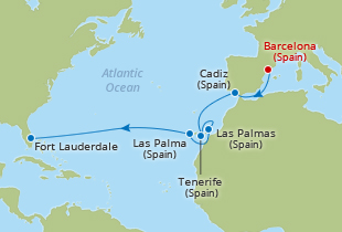 Transatlantic Cruise Deals