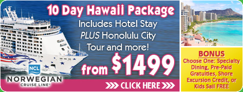 Hawaii Cruise and Hotel Deal!