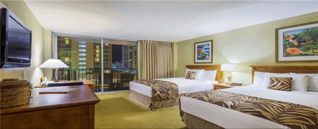 2 Nights Honolulu Hotel in the Heart of Waikiki