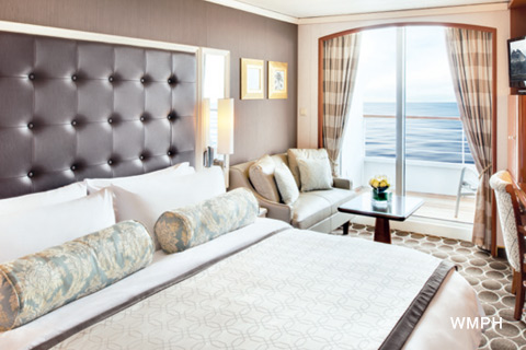 Crystal Serenity Cabin 8002 Category B3 Deluxe