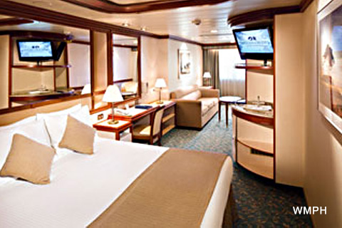 Coral Princess Cabin C201 Category My Oceanview Mini Suite C201 On Icruise Com