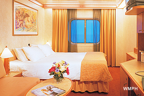 Carnival Legend Cabin 1121 - Category 6A - Ocean View Stateroom 1121