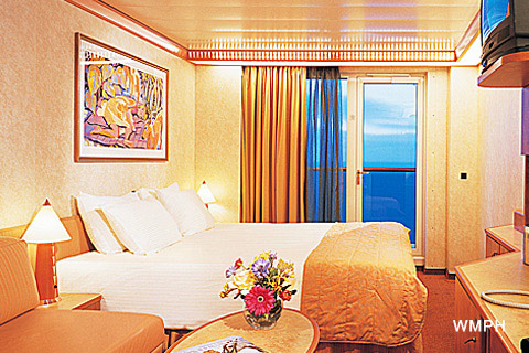 Carnival Legend Cabin 5190 Category 7a Balcony
