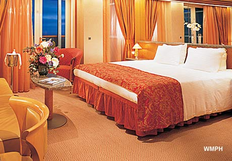 Carnival Legend Cabin Category OS Ocean Suite On - Carnival spirit cruise ship cabins