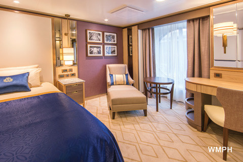 Queen Mary 2 Cabin 3008 Category Kc Single Oceanview
