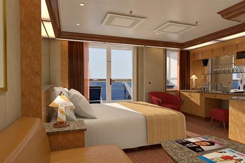 Carnival Spirit Cabin 5243 Category 9a Premium Balcony