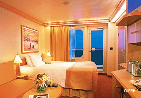 Carnival Victory Cabin 7430 Category 8m Aft View