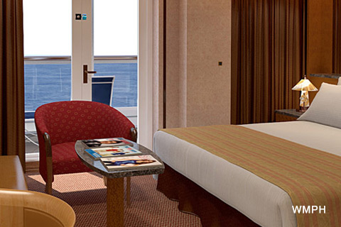 Carnival Miracle Cabin 5293 Category Os Ocean Suite 5293 On Icruise Com
