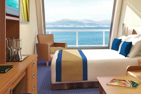 carnival valor cabin 9201 category 6k scenic grand ocean view