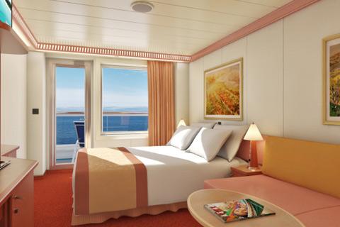 carnival valor cabin 8315 category 8d balcony stateroom 8315 on