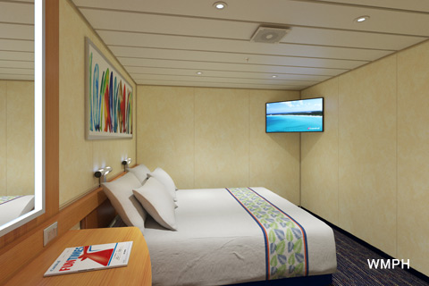 Carnival Elation Cabin R Category A Interior Stateroom - Elation cruise ship rooms