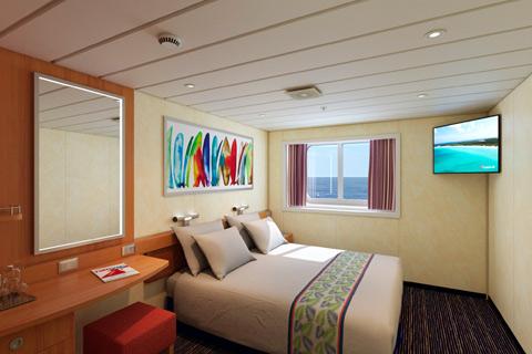Carnival Sensation: Cabin Tour: E111 - Ocean View - YouTube  |Carnival Sensation Ocean View