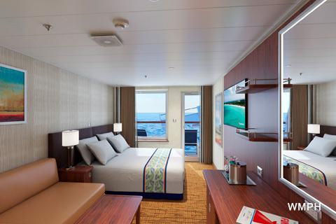 Carnival Elation Cabin V Category JS Junior Suite V On - Elation cruise ship rooms