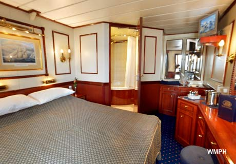 Star Clipper Cabin 533 Category 1 Deluxe Outside Deck
