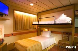 carnival fantasy cabin r54 category 1a interior