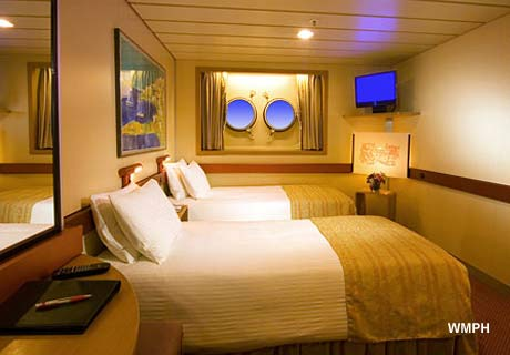Carnival Fantasy Cabin U15 Category Pt Interior Porthole Stateroom U15 On