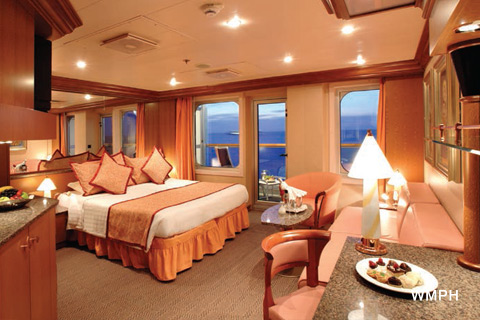 Costa Magica Cabin 7283 Category S Suite With Balcony 7283 On Icruise Com