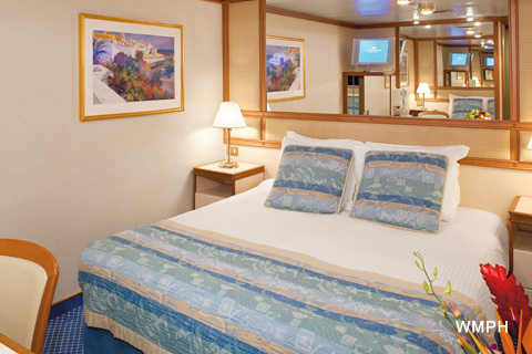 Crown princess cabin r316 category ic interior stateroom r316 on for Princess cruise interior cabin