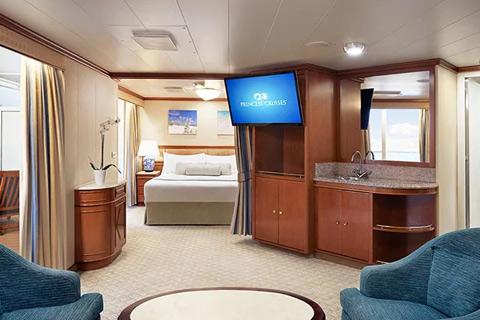Crown Princess Cabin C748 Category S3 Balcony Suite