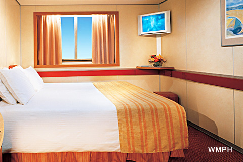 Carnival Imagination Cabin E34 - Category 6D - Ocean View Stateroom on