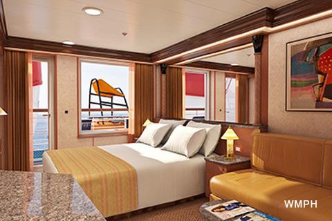 Carnival Inspiration Cabin V7 Category Js Junior Suite