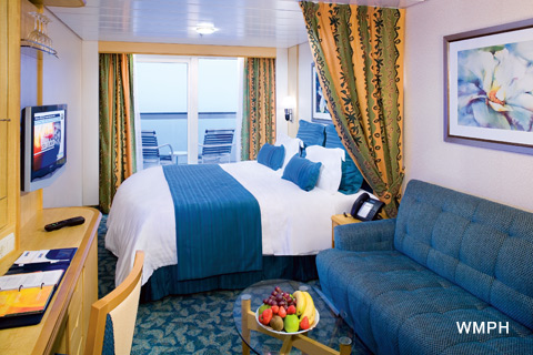 Liberty Of The Seas Cabin 8712 Category E1 Deluxe Ocean View Stateroom With Balcony 8712 On