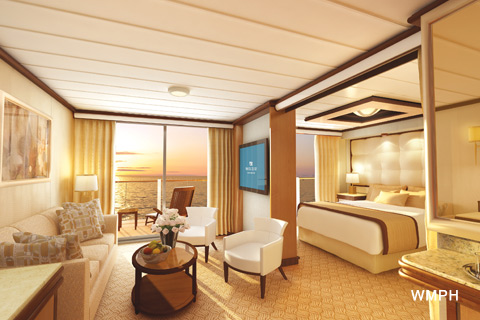 Royal Princess Cabin A101 Category S5 Suite With Balcony A101 On Icruise Com