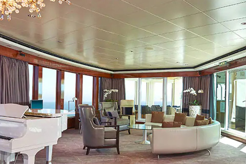Norwegian Gem Cabin 14000 Category H1 The Haven 3 Bedroom Garden Villa 14000 On Icruise Com