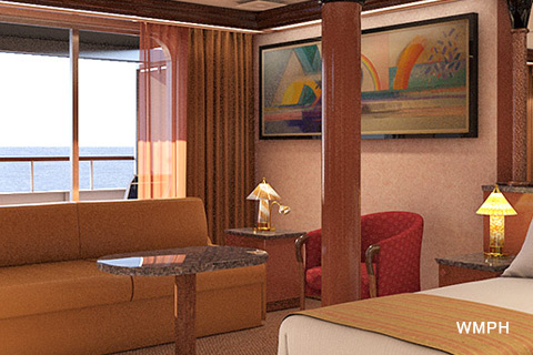 Carnival Paradise Cabin U112 Category Gs Grand Suite U112 On Icruise Com