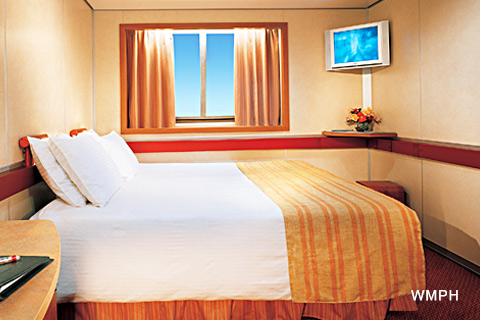 Oceanview Stateroom, Cabin Category 6C, Carnival Sensation  |Carnival Sensation Ocean View