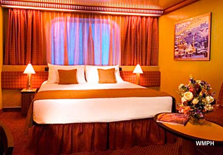 Carnival Splendor Cabin 1001 Category 6s Cloud 9 Spa