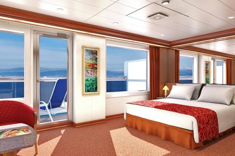 Carnival Splendor Cabin 7294 Category Gs Grand Suite