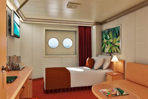Carnival Splendor Cabin 1214 - Category PT - Interior ...