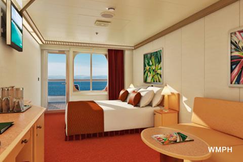 Carnival Dream Class - Balcony - cruisedeckplans.com