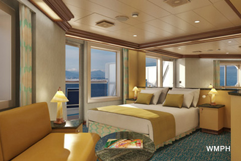 Carnival Magic Cabin 9206 Category Js Junior Suite 9206 On Icruise Com