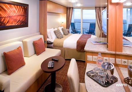Deluxe Balcony Stateroom (Partially Obstructed View) on ...
