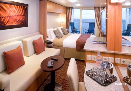 Celebrity Reflection Cabin 7202 - Deluxe Veranda Ocean ...