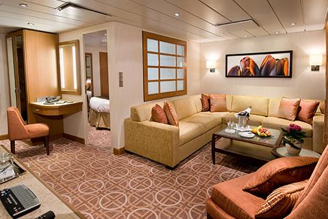 Celebrity Equinox Cabin 1619 Category Cs Celebrity Suite 1619 On Icruise Com