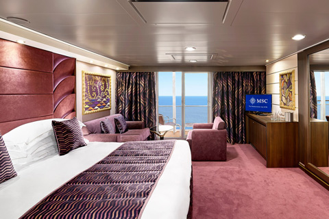 Msc Fantasia Cabin 15009 Category Yc1 Msc Yacht Club