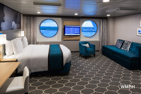 how to choose allure of the sea cabine