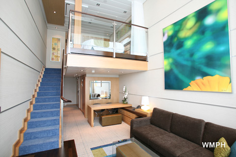Allure Of The Seas Cabin 1701 Category Op Owner 39 S Panoramic Suite 1 Bedroom 1701 On