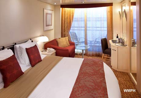 Celebrity Constellation Cabin 7134 Category 2a Deluxe Ocean View Stateroom With Verandah 7134 On Icruise Com