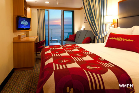 Disney Dream Cabin 8044 Category 05b Deluxe Oceanview Stateroom